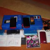 NOKIA 500 ORIGINAL 100% CA NOI LA CUTIE - 189 LEI !!! - Telefon Nokia, Negru, 4GB, Neblocat, Single SIM, Single core