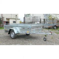 Remorca auto 750 kg Boro Majster 245x125 cm, Acum 6 RATE Fara Dobanda, cu RAR - Utilitare auto