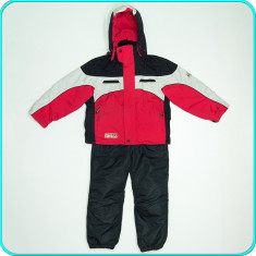Costum ski, geaca+salopeta iarna, impermeabil, SNOXX→ baieti | 7—8 ani | 128 - Echipament ski, Copii
