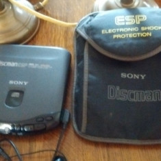 CD player portabil Sony cu telecomanda