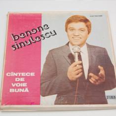Benone Sinulescu – Cîntece De Voie Bună - Box 3 discuri vinil ( vinyl, LP ) - Muzica Lautareasca electrecord