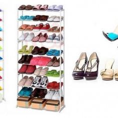 Suport/Organizator pentru pantofi, 30 de perechi - Pantofar hol