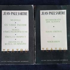 J.-P. Sartre - Teatru (2 vol.) - Carte de aventura