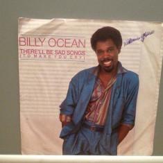 BILLY OCEAN - THERE'LL BE SAD SONGS/IF I..(1986/JIVE/RFG)- Vinil Single pe '7/NM - Muzica Pop Teldec