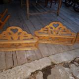 3 etajere rustice.colțare, 1900 - 1949