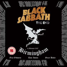 Black Sabbath - End (live F/t Genting Arena / Angelic Sessions1 ( 1 BLU-RAY + 1 CD ) - Muzica Rock