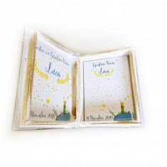 Carte cu Ganduri Bune Micul print – Guestbook personalizat copii