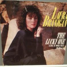 LAURA BRANIGAN - THE LUCKY ONE/BRAKING ..(1984/WARNER/RFG)-Vinil Single pe '7/NM - Muzica Pop Atlantic
