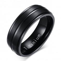 Inel titan barbati TF500 - Inel inox