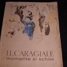 MOMENTE SI SCHITE-I. L. CARAGIALE-ILUSTRATIE BACIU CONSTANTIN-