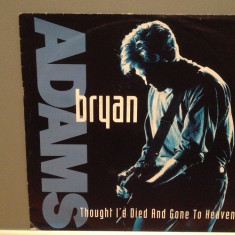 BRYAN ADAMS - THOUGHT I'D DIED../SOMEBODY.(1992/A & M/RFG)-Vinil Single pe '7/NM - Muzica Pop A&M rec
