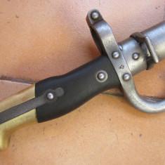 Baioneta/sabie /tepusa / frantuzeasca pt. pusca gras mod.1874