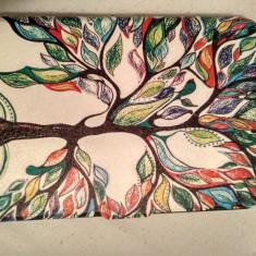 Husa KIndle Paperwhite - Vintage Motiv Floral