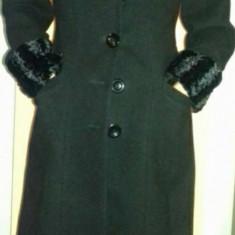 Palton dama M/L ca nou, Culoare: Negru