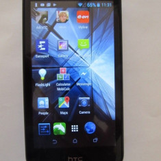 Telefon HTC Desire 310, cu incarcator, Negru, Orange, Single SIM, 1 GB