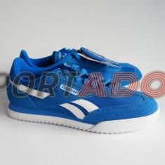 Adidasi Reebok Royal Rayen 34.5, 35EU - produs original, factura si garantie - Adidasi copii Reebok, Culoare: Albastru