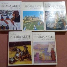 Istoria Artei. 5 Volume - Elie Faure - Carte Istoria artei