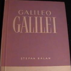 GALILEO GALILEI-STEFAN BALAN-185 PG- - Biografie