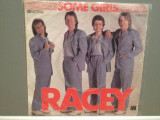 RACEY - SOME GIRLS/FIGHTING CHANCE (1979/RAK/RFG) - Vinil Single '7/NM, Electrola