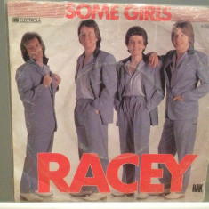 RACEY - SOME GIRLS/FIGHTING CHANCE (1979/RAK/RFG) - Vinil Single '7/NM - Muzica Pop Electrola