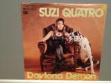 SUZI QUATRO - DAYTONA DEMON/ROMAN FINGERS (1973/RAK/RFG) -Vinil Single pe '7/NM, emi records