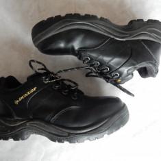 Bocanci lucru piele naturala Dunlop Safety Steel Oil Slip Resistant; marime 40, Culoare: Din imagine