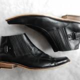 Pantofi de gala Dolcis piele naturala. Marime 42 (28 cm talpic); impecabili