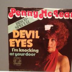 PENNY McLEAN - DEVIL EYES/I'M KNOCKING (1976/JUPIER/RFG)-Vinil Single pe '7/NM, ariola