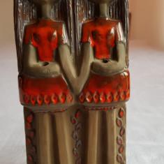 OBIECT DECORATIV DIN CERAMICA SCANDINAVA, LUCRAT MANUAL - Arta Ceramica