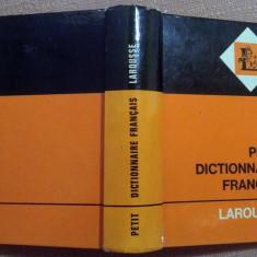 Petit Dictionnaire Francais.  Larousse,  1956, Alta editura