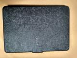 Husa KIndle Paperwhite - albastru inchis metalizat