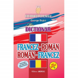 Carte mic Dictionar francez-roman roman francez, andreas
