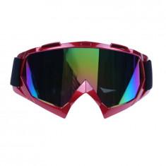Ochelari unisex ski, snowboard si multe alte sporturi, lentila multicolora, O1RM - Ochelari ski