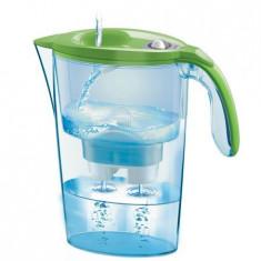 Cana de filtrare apa Laica, Stream Mechanical, Verde - Aparat Filtrare si Dozator Apa