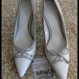 Pantofi piele naturala  nr 36 noi
