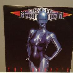 METAL MARATHON - THE HEAVY'S (1989/ARIOLA/RFG)- Vinil Single pe '7/NM - Muzica Rock