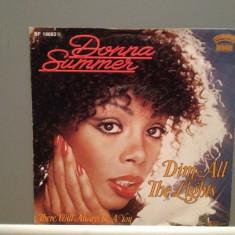 DONNA SUMMER - DIM ALL THE LIGHTS/...(1979/BELLAPHON/RFG)- Vinil Single pe '7/NM - Muzica Pop ariola