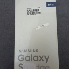 Samsung Galaxy S6 Edge 64 GB - Telefon Samsung, Negru, Neblocat