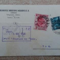 C.P. Reclama - Brasov Bod -Oradea 1936.