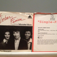 JEFF LORBER FUSION - MONSTER MAN/SPUR...(1981/ARISTA/RFG)-Vinil Single pe '7/NM - Muzica Jazz