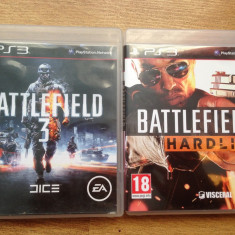 Vand 2 jocuri Playstation 3 / PS3 : Battlefield 3 + Battlefield Hardline - Jocuri PS3