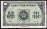 Maroc 10 Francs s663 1943 P#25