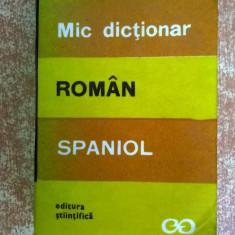 Cristina Isbasescu - Mic dictionar roman-spaniol