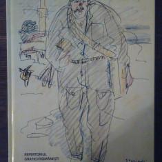 Repertoriul graficii romanesti in secolul al XX-lea vol. VII litera S - Carte Istoria artei