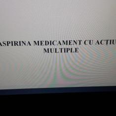 Lucrare de licență+ Prezentare in Power Point AMF ASPIRINA - Carte Farmacologie