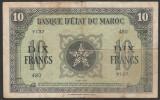 Maroc 10 Francs s480 1943 P#25
