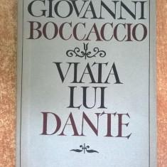 Giovanni Boccaccio – Viata lui Dante - Biografie