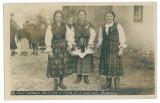 3896 - RUSCOVA, Maramures, Ethnic women - old postcard, real PHOTO - unused, Necirculata, Fotografie