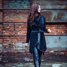 Palton - Palton dama, Marime: M, Culoare: Negru