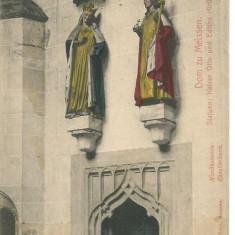 (A) carte postala(ilustrata)-GERMANIA-Detaliu din Catedrala Meissen, Necirculata, Printata